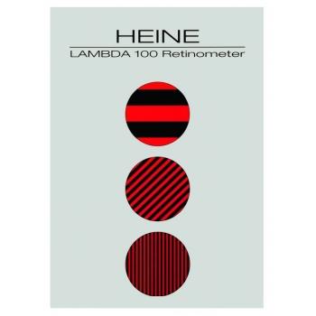 Tarjeta de paciente para retinómetro LAMBDA 100