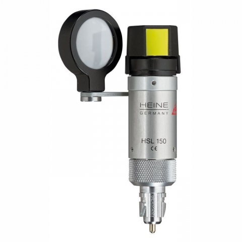 Cabezal de lámpara de hendidura manual HSL 150 de 3,5 v.