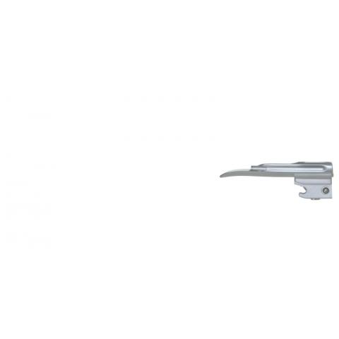 Espátula de laringoscopio de luz fría Miller número 00 prematuros 76 mm