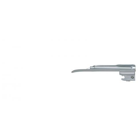 Espátula de laringoscopio de luz fria Miller número 1 lactantes 100 mm.