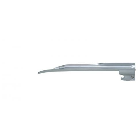Espátula de laringoscopio de luz fria Miller número 2 adultos 152 mm.
