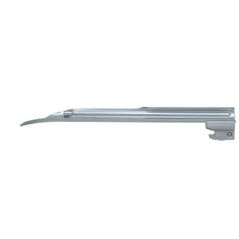 Espátula de laringoscopio de luz fria Miller número 3 extra larga 192 mm.