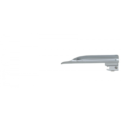 Espátula de laringoscopio de luz fria WIS número 1 110 mm.