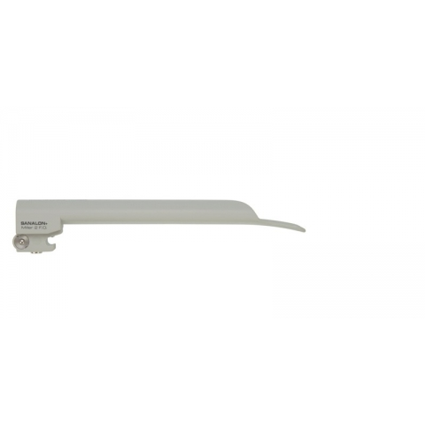 Espátula de laringoscopio de luz fría SANALON Miller número 2 infantil 155 mm.