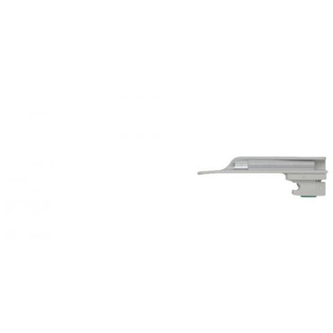 Cartón con 25 espátulas de laringoscopio DESECHABLES Miller nº 0, 80 mm.