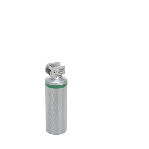 Mango corto 11 cm. a pilas, con lámpara para laringoscopio de luz fría 2,5 v.