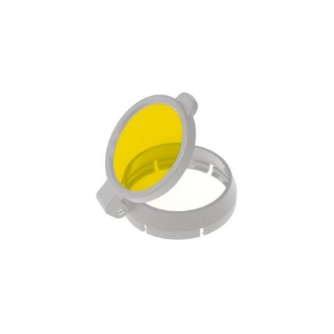 Filtro amarillo desmontable para 3S LED.