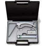 Equipo de laringoscopio FLEX-TIP con espátula McIntosh nº 4 c/punta giratoria y mango a pilas