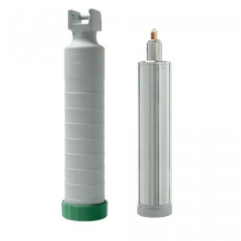 Portapilas para mangos standard F.O. y batería recargable 3,5 v.