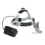 3S LED HeadLight con casco profesional, transformador de enchufe y regulador en cinta
