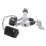 3S LED HeadLight con casco profesional L, batería mPack UNPLUGGED y transformador de enchufe