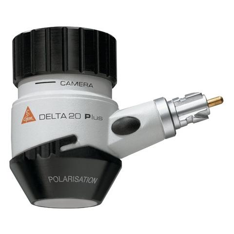 Cabezal Dermatoscopio DELTA PLUS P polarizado sin mango y con disco de contacto y marcaje de escala