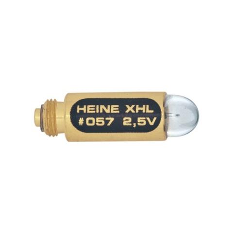 Bombilla XHL Halógena 2,5 V. para portalámparas recto con espejo laríngeo.