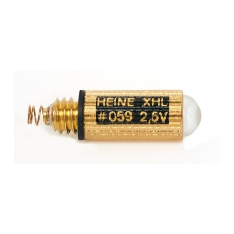 Bombilla XHL Halógena 2,5 V. para laringoscopio con luz convencional.