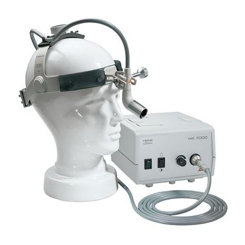 Kit 6 Lámpara frontal MD 1000 FO con video óptica prismática, c/cámara CCD A-Cam y procesador, completo