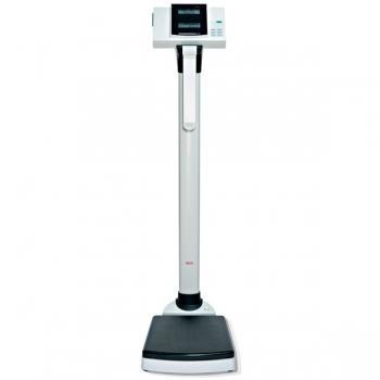 Estación electrónica de pesaje y medición con cálculo automática del BMI, con impresora para ticket incorporada.