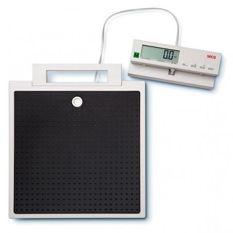 Báscula médica digital de suelo SECA 899, indicador remoto, clase III.