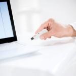 """Adaptador USB para """"seca 360º wireless"""" entre equipo Seca y PC."""
