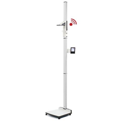 Estación de pesaje y medición con transmisión inalámbrica, clase III.