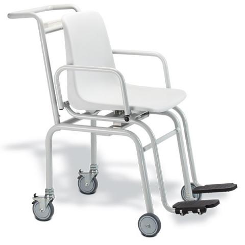 Báscula digital con silla SECA 952 con alimentación por pilas