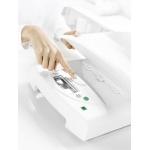 Pesabebés médico electrónico digital SECA 385 con artesa desmontable, clase III.