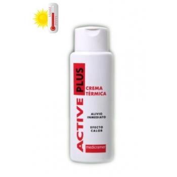 ACTIVE PLUS crema térmica de efecto calor suave, envase de 400ml