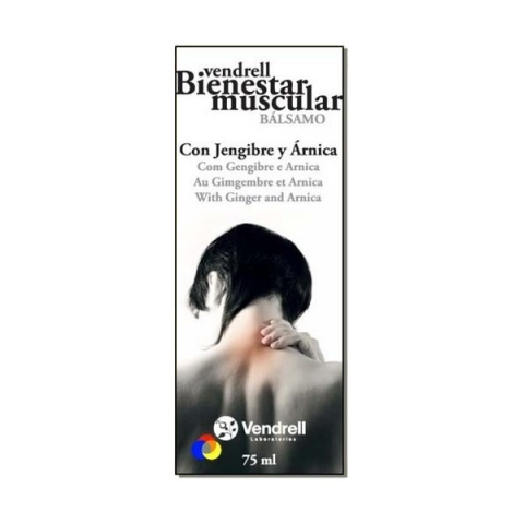 Vendrell bálsamo bienestar muscular tubo 75ml