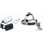 3S LED HeadLight con casco profesional,M-Pack y transformador de enchufe