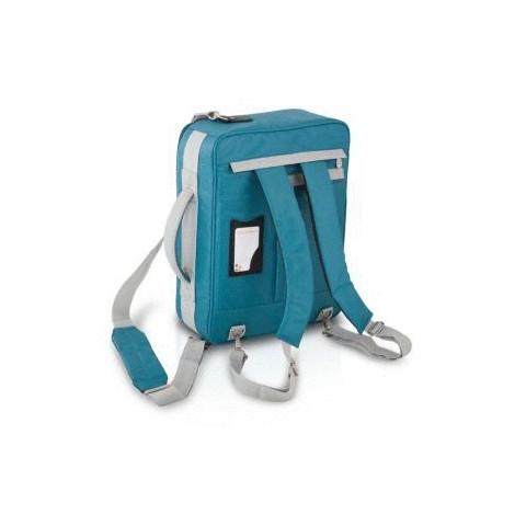 Maletín asistencias sanitarias poliéster azul agua-marina, modelo PRACTI's