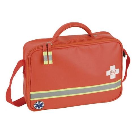 Botiquín primeros auxilios, tarpaulin rojo, modelo SAFE's
