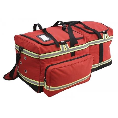Bolsa bomberos transporte Equipo Protección Individual, loneta rojo, modelo ATTACK's