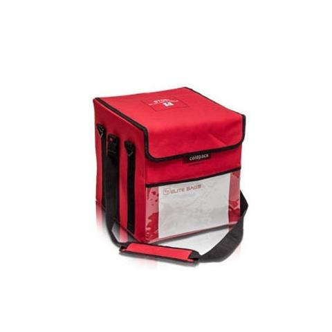 Bolsa isotérmica COLDPACK 10 Litros color rojo