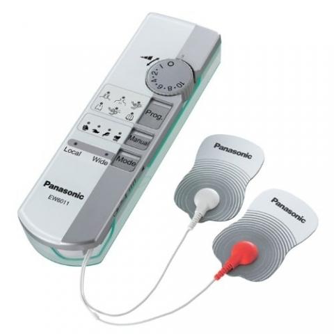 TENS de 1 canal, con 2 electrodos para tratamientos puntuales