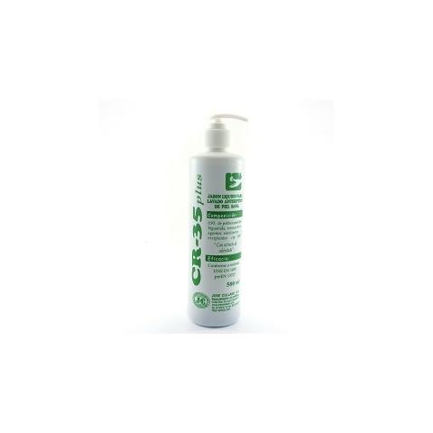 Jabón Líquido Antiséptico CR-35 PLUS 500cc con valvula