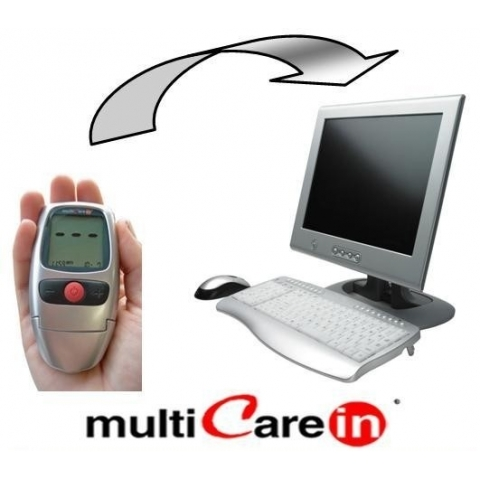Software con cable USB multiCare-in