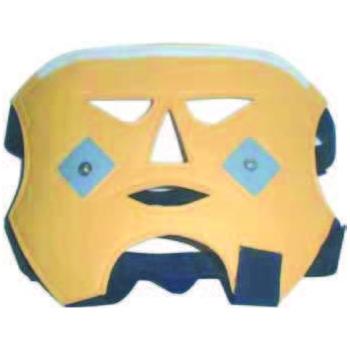 Máscara conductiva iontoforesis