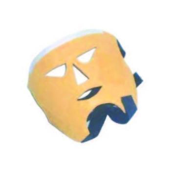 Máscara conductiva electroestimulación