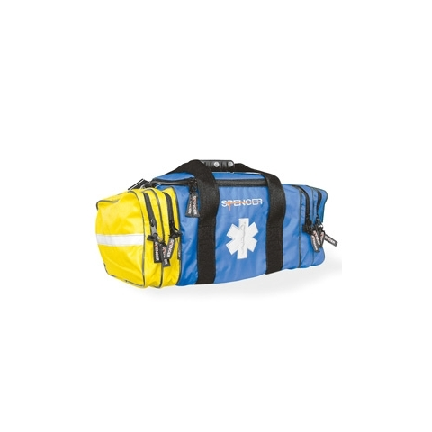 Co-bag bolsa profesional emergencias azul y amarilla