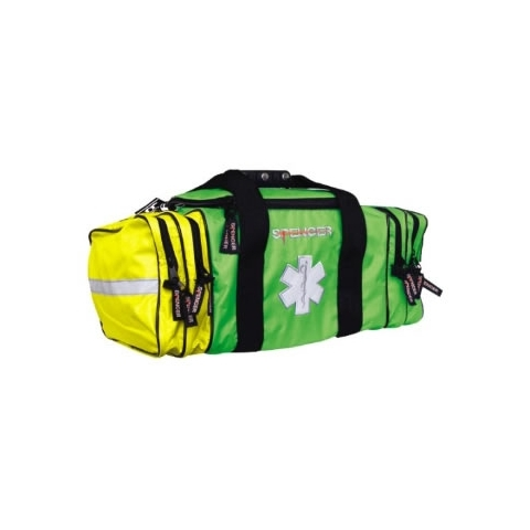 Co-bag bolsa profesional emergencias verde y amarilla