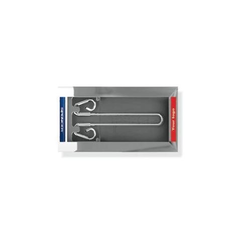 Porta-sueros empotrado en aluminio Track 9