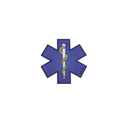 Simbología reflectante PR-X Star of Life 32 x 32 cm