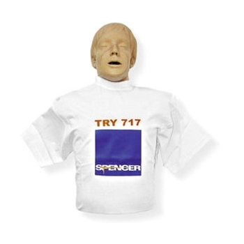 Maniquí medio cuerpo RCP Try 717
