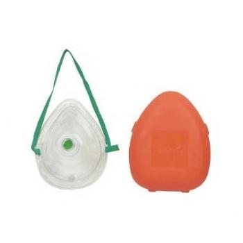 Flex Mask con caja PVC naranja