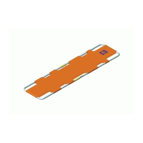 Camilla compacta plegable en longitud Spencer 250 naranja