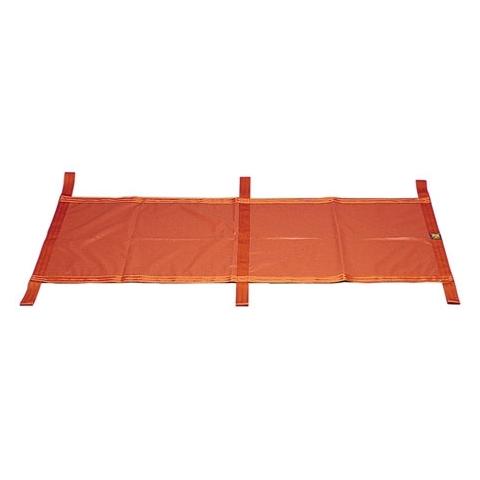 Lona porta-heridas en nylon recubierto Hirvin seis asas naranja