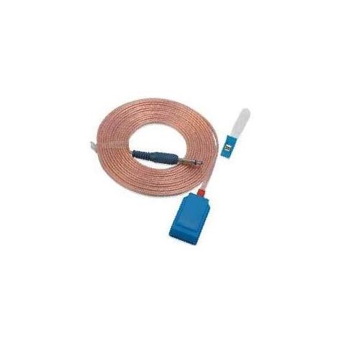 Cable para placa dispersiva desechable y conector jack 6.3mm