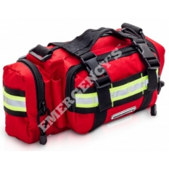 Riñonera emergencias, loneta roja