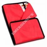 Porta viales gran capacidad enrollable, rojo
