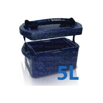 Caja de transporte de bolsas de sangre - modelo BlueLine 5 Litros