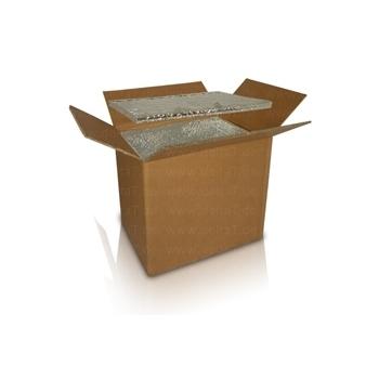 Caja con aislamiento por vacío, descartable 190 Litros